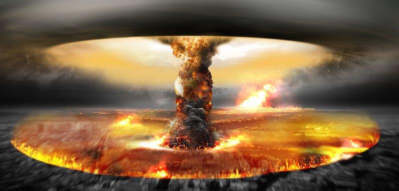 Illustration for article titled Proyecto A119: así fue como Estados Unidos pensaba detonar una bomba nuclear en la Luna