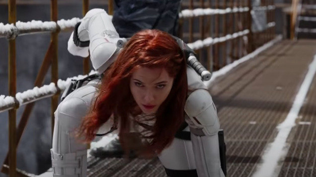 Black Widow Thinks Natasha s Sexy Battle Poses Are Just as Silly as You Do