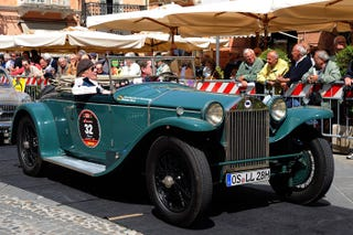 """Illustration for article titled Get Ready For The """"Mille Miglia"""" 2013..."""