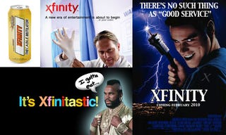 Illustration for article titled 25 New Ads to Introduce Xfinity to the Masses