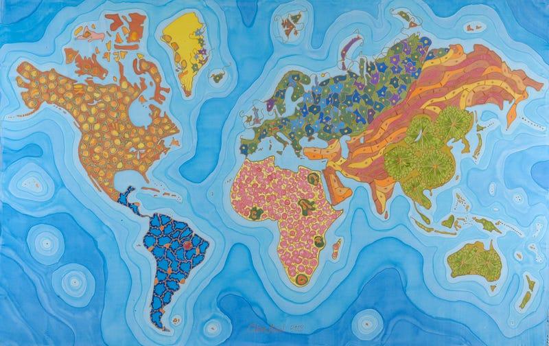 Illustration for article titled Így néz ki a világ lenyűgözően szép haláltérképe