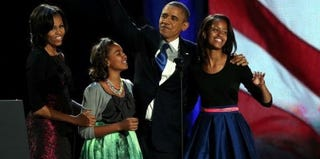 The Obamas on election night (Getty Images)