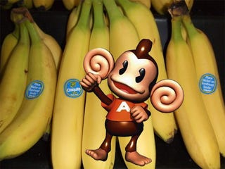 Illustration for article titled Super Monkey Ball And The Most Appropriate Cross Promotion Ever