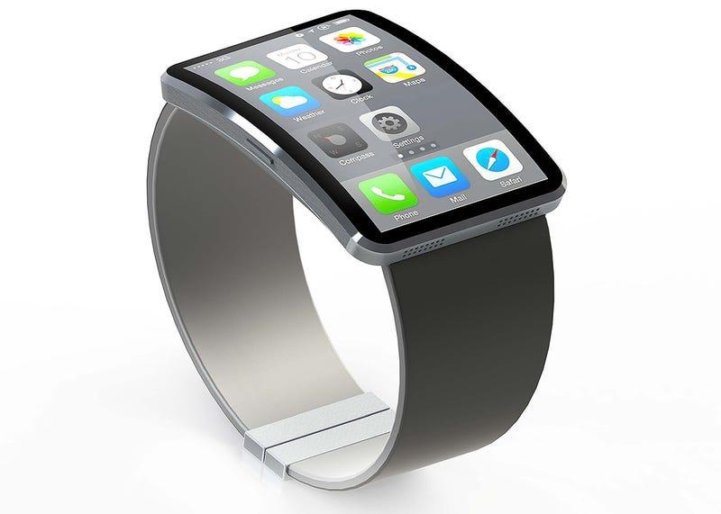 Illustration for article titled El smartwatch de Apple podría venir en dos tamaños y con NFC