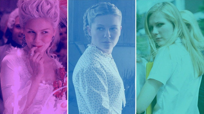 Screenshots: Marie Antoinette, The Beguiled, and The Virgin Suicides. Graphic: Jimmy Haase.