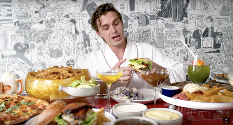 Illustration for article titled How Many Seconds of Antoni Porowski's SponCon Mukbang Can You Get Through?
