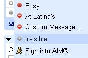 """Illustration for article titled Gmail Adds """"Invisible"""" Status for Stealthy Chat"""