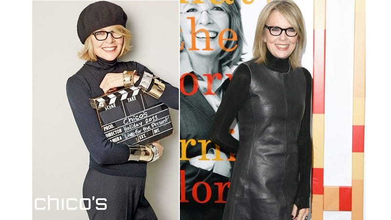 Illustration for article titled Diane Keaton Is The Next Face of Chico's