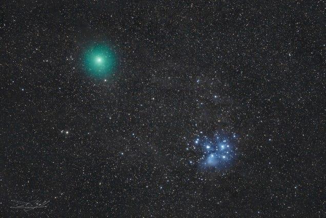 ICYMI: The Best Photos of Last Week's Green Comet