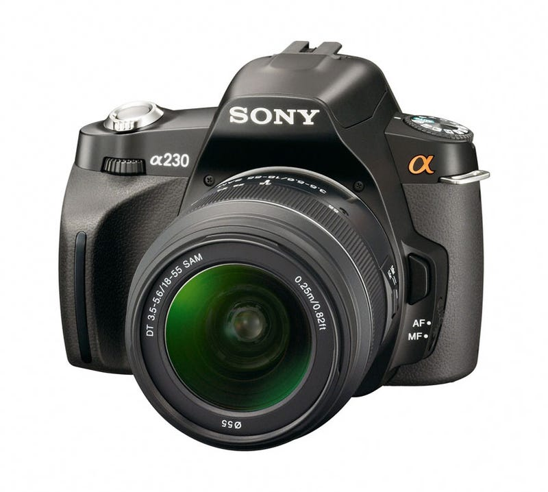 Illustration for article titled Sony's New Entry Level DSLRs Officially Announced, Again