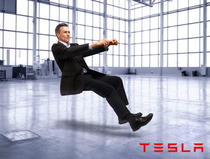 Illustration for article titled Tesla Debuts Carless Driver