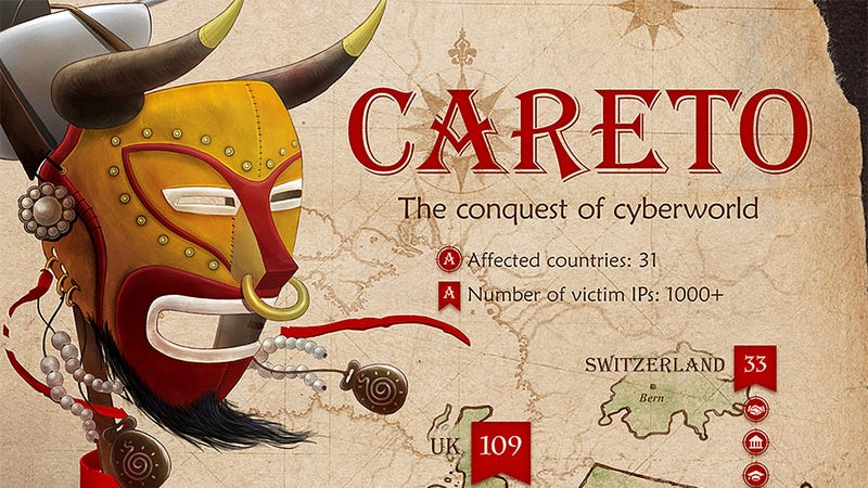Illustration for article titled Crazy-Advanced Malware Has Been Infecting Governments Since 2007