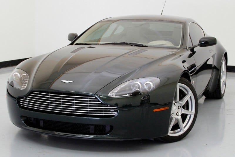 I Want An Aston V Vantage - Aston martin under 50k