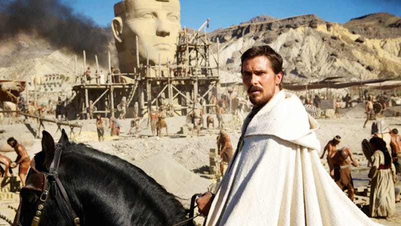 Illustration for article titled Optimist Christian Bale Hopes For a Black Moses in 'a Few Decades'