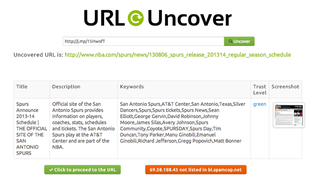 Illustration for article titled URL Uncover Scans Shortened Links For Safer Browsing