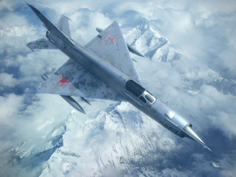 Illustration for article titled MiG-21 - because planes