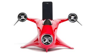 Illustration for article titled Failed Flying Car Design Makes For a Lovely iPhone Dock