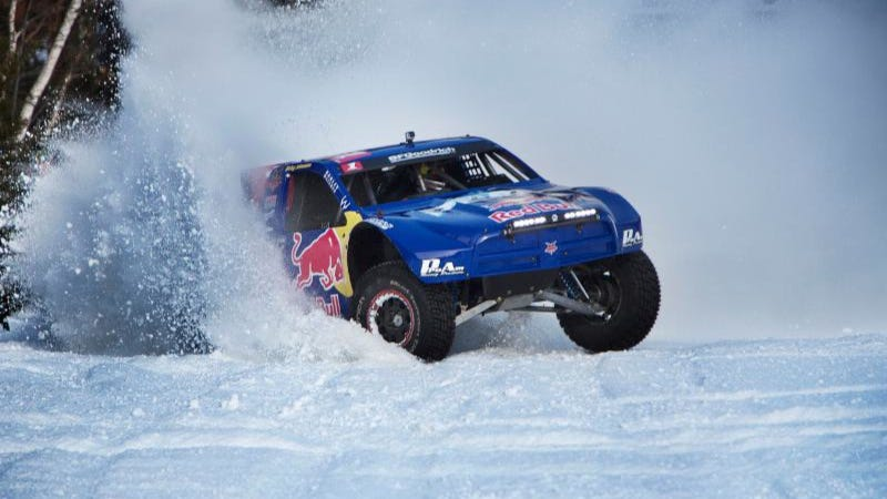 Illustration for article titled Snowsports Redefined: Off-Road Racing Brings New Head-to-Head Challenge To The Slopes