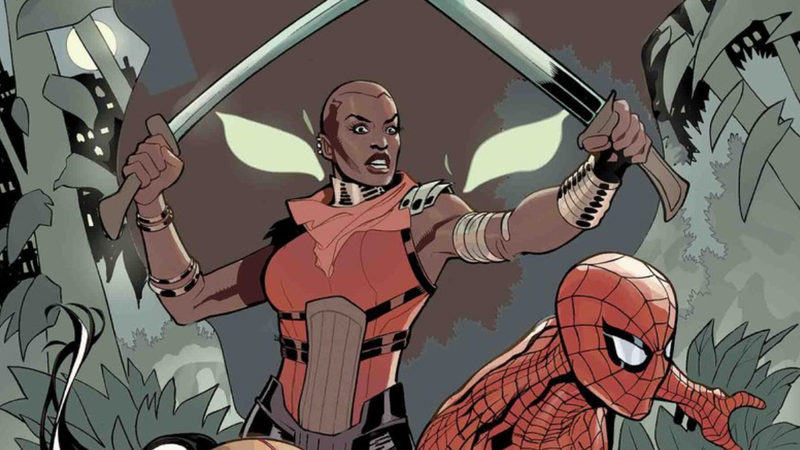 The cover of We Are Wakanda: The Amazing Spider-Man #1.