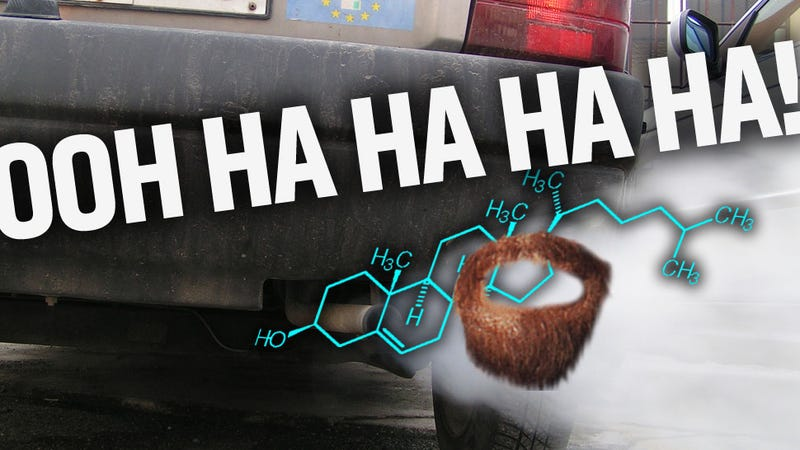 Illustration for article titled Car Exhaust Turns Good Cholesterol Bad, Says Depressing Study