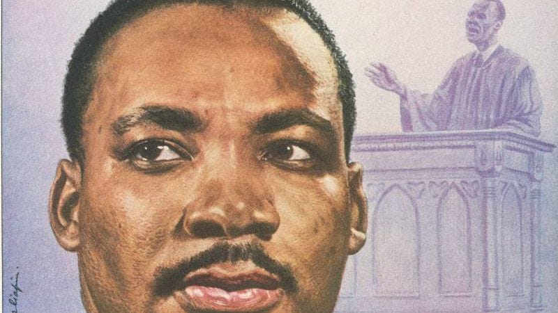 Illustration for article titled Read This: The FBI wrote MLK Jr. a letter, encouraging him to commit suicide