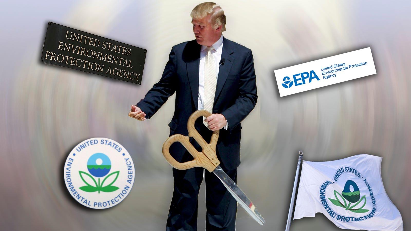 Report: Trump to Announce Massive EPA Cuts