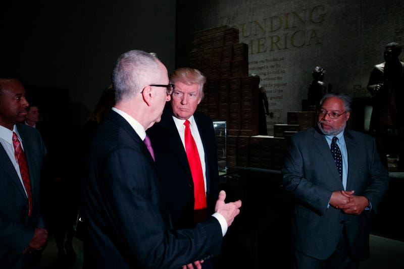 Newly appointed Smithsonian Secretary Lonnie G. Bunch, III recalls details of private tour he gave President Trump of the National Museum of African American History and Culture in new memoir.
