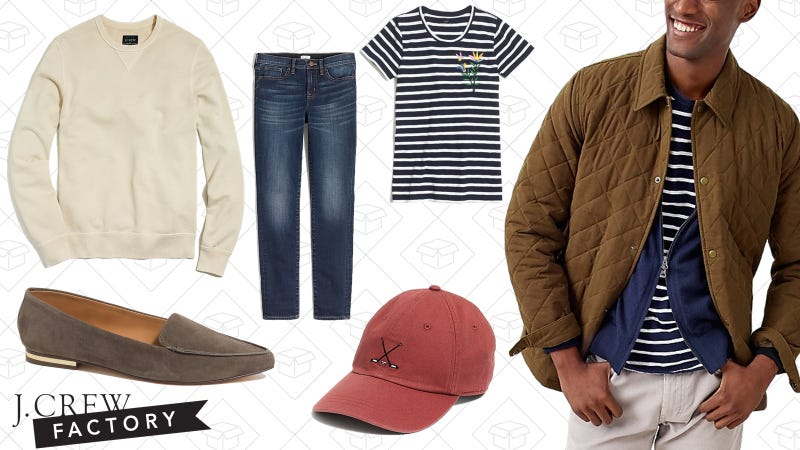 Extra 30% off everything | J.Crew Factory | Use code BLOSSOM