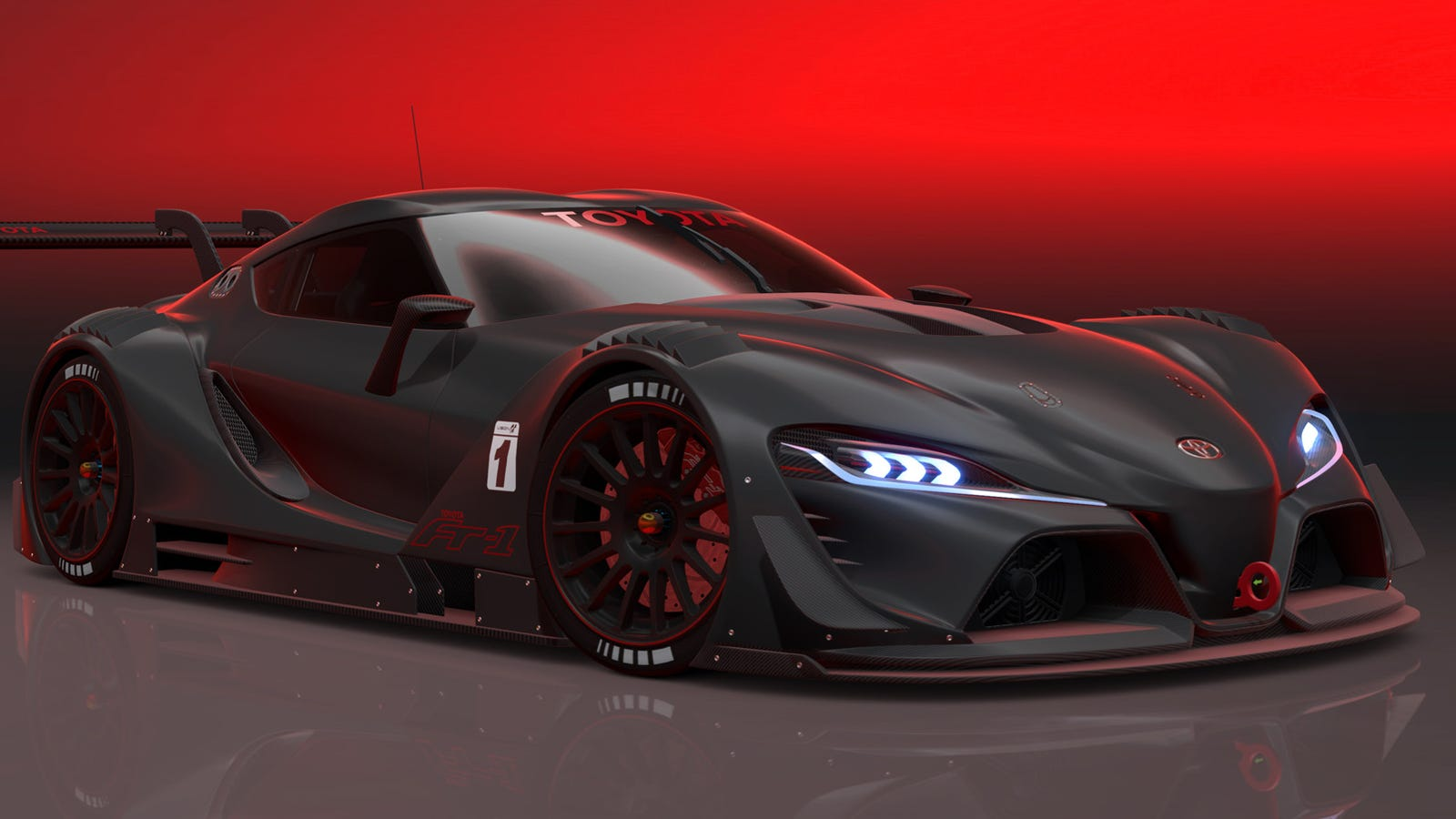 Toyota Ft 1 Concept Price >> Toyota FT-1 Vision GT: The Racing Supra You All Know You Want
