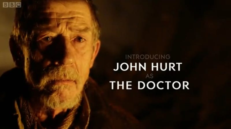 Illustration for article titled Who is John Hurt's Doctor? My Theory is...