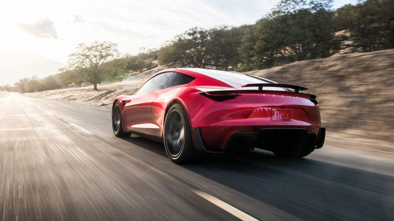 Elon Musk hints Tesla Roadster might be able to fly