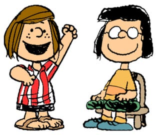 Illustration for article titled Peanuts Fan Fiction