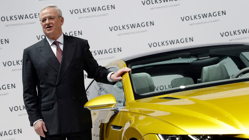 Illustration for article titled Ex-Volkswagen CEO Martin Winterkorn Criminally Charged In America Over Dieselgate