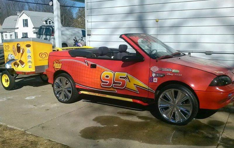 For 6 000 Would You Say Ka Chow To This 1993 Geo Metro Cars Homage Business Opportunity