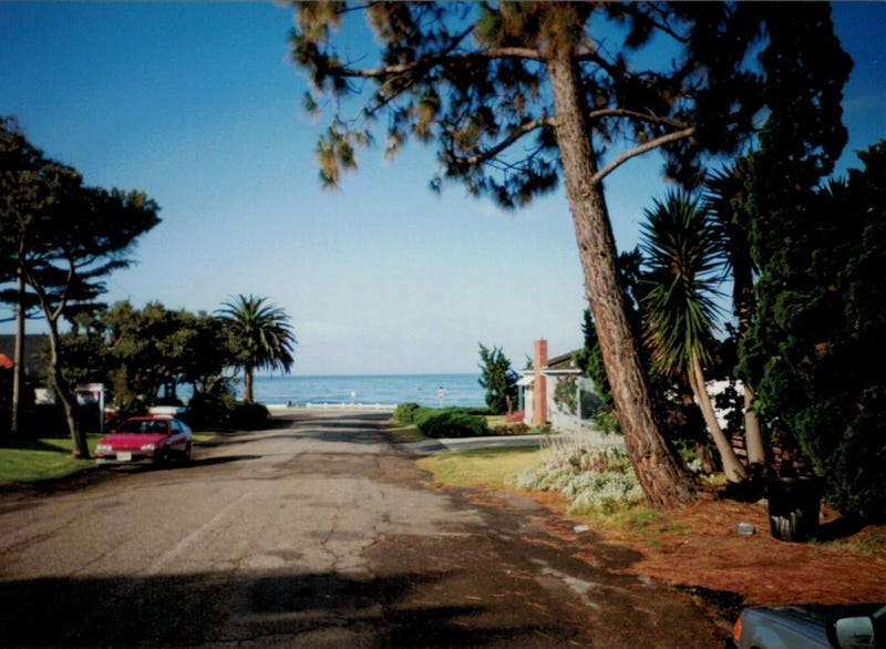 Shell Beach, CA, mid-nineties