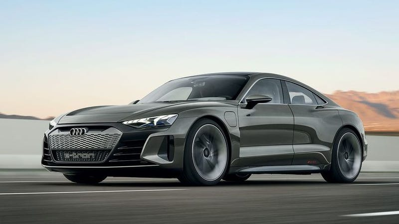 New Audi 2020 The 2020 Audi E Tron GT Concept Is an Incredibly Handsome 590 HP