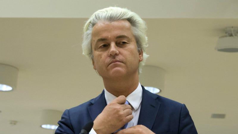 Geert Wilders. Photo via AP