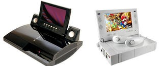 """Illustration for article titled The PS3 and the Wii Get LCDs For """"Portable"""" Gaming"""