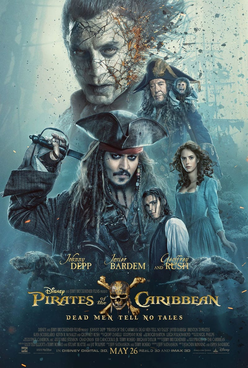 دانلود رایگان فیلم Pirates of the Caribbean: Dead Men Tell No Tales 2017