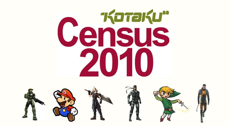 Illustration for article titled Kotaku Census 2010: The Games You Love