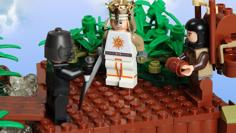 Illustration for article titled Monty Python LEGO Is A Flesh Wound For Your Dreams