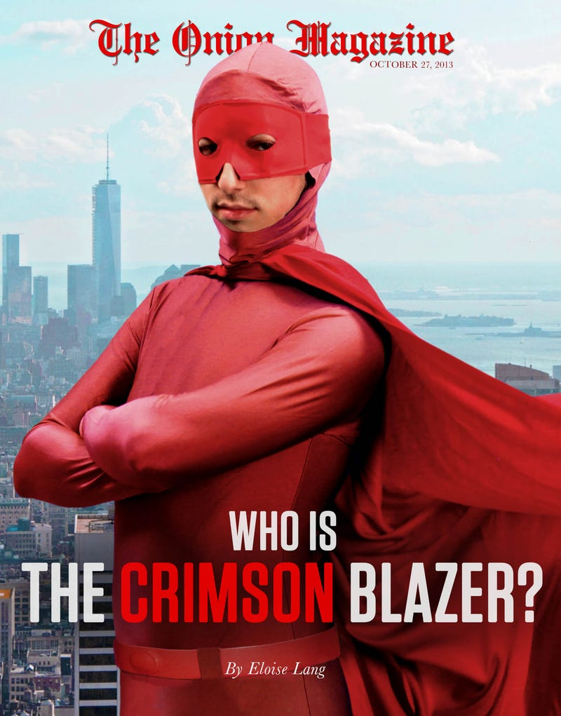 Illustration for article titled Who Is The Crimson Blazer?