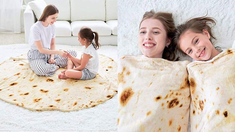 CASOFU Burrito Blanket   $19   Amazon   Clip 15% off coupon