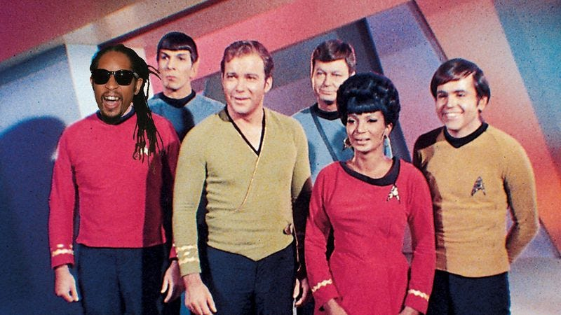 Illustration for article titled The cast of Star Trek turn down for what in a Lil Jon-infused supercut