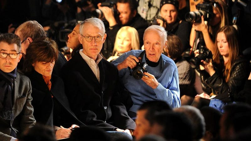 Illustration for article titled Bill Cunningham Hit by SUV at Fashion Week, Remains Invincible