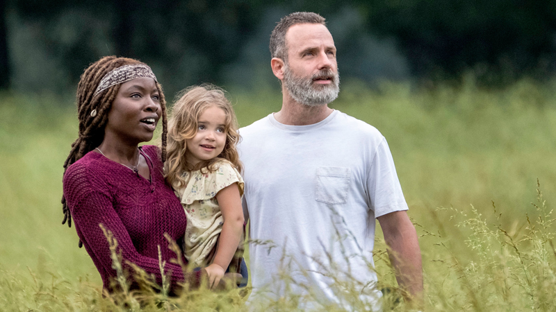 Andrew Lincoln is back! Sort of!