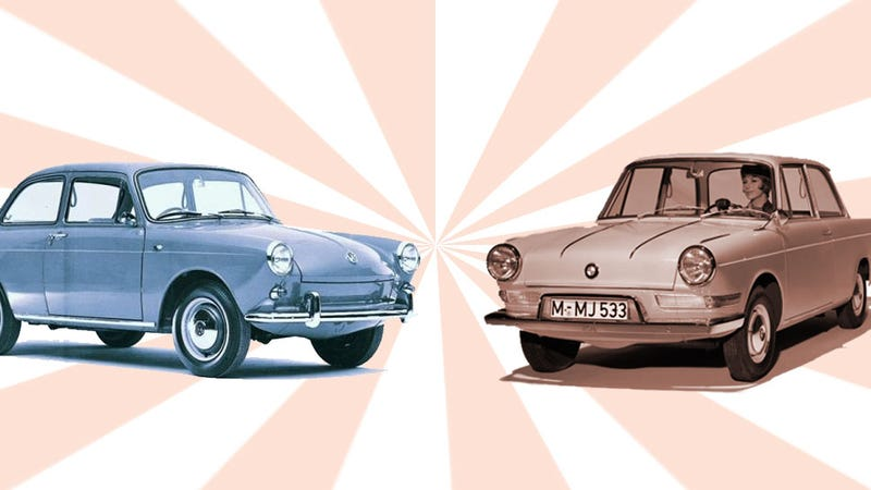 Illustration for article titled What Are Your Favorite Automotive Doppelgängers?