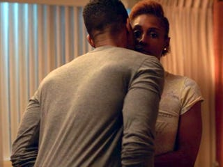 Scene from Insecure (HBO screenshot)