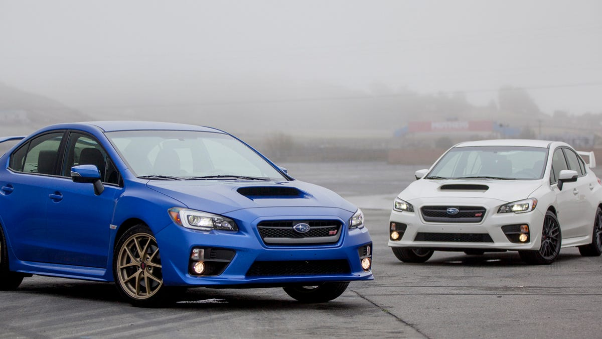 Should You Buy A 2015 Subaru WRX Or A WRX STI?