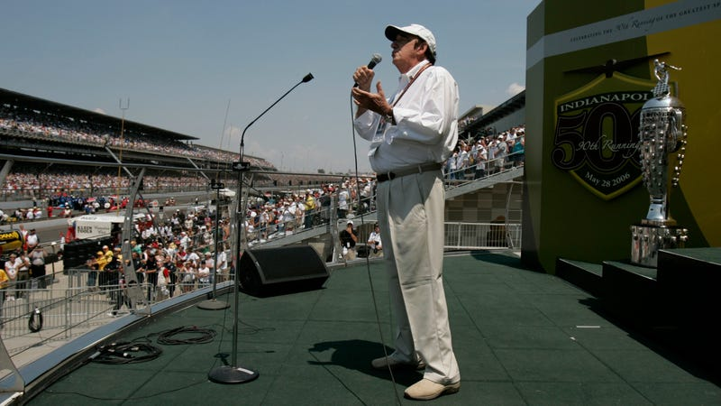 Jim Nabors at Indy in 2006. Image: AP